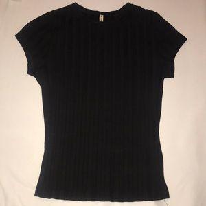 Fitted Rib T-Shirt LF